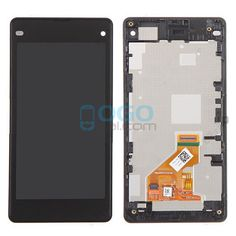 For Sony Xperia Z1 Compact/Z1 Mini LCD & Touch Screen Assembly With Frame Replacement- Black @ http://www.ogodeal.com/for-sony-xperia-z1-compact-z1-mini-lcd-digitizer-touch-screen-assembly-with-frame-black.html