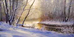 Landscape.Winter. by AwaaraC.deviantart.com on @DeviantArt