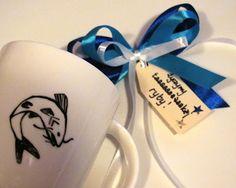 Kubek dla wedkarza #fish #fishing #mug #design #komodapomyslow