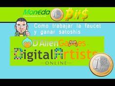 Ganar Satoshis con DigitalArtist online, con prueba de pago en su página...