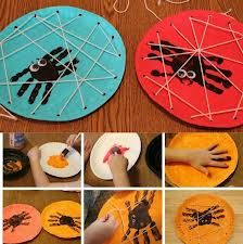Risultati immagini per manualidades halloween niños Kids Crafts, Bug Crafts, Halloween Crafts For Kids, Halloween Activities, Holiday Crafts, Creative Crafts, Craft Kids, Easy Halloween, Kindergarten Art Activities