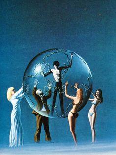 Artwork by Robert Petillo 70s Sci Fi Art, Classic Sci Fi, Planet Of The Apes, Visionary Art, Greek Gods, Art Direction, New Art, Mythology, Science Fiction