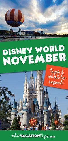 What you need to know about visiting Disney World in November.