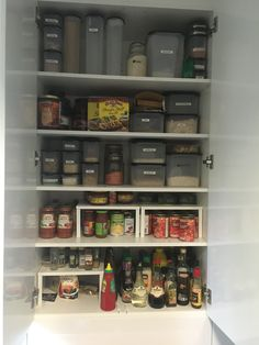 #mynewkitchen #reno #kitchenreno #pantry #pantrywall #pantryporn #storage #shelving #drawers #home #corporatemamahome
