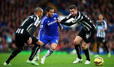 hazard  against Newcastle