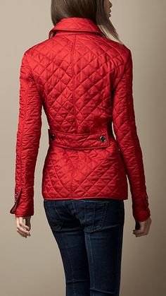 Burberry Quilted Jacket | fashion.obsessed. | Pinterest | Burberry ... : burberry brit fairstead quilted jacket - Adamdwight.com
