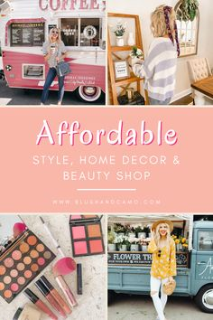 Whether you've been looking for affordable style, home decor, or beauty items, you've found the right place! Come check out some of my favorite things! I know you'll love them! Happy shopping! #happyshopping #affordablestyle #affordablehomedecor #affordablebeauty