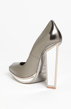 Yves Saint Laurent Mirror Heel Pump