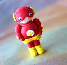 Fondant Cake Topper - 20-Piece Flash Superhero-Themed Fondant Cake Topper -  Perfectly 7a1c5fc4c5b26