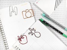 five sixteenths blog: Make it Monday // DIY Shaped Paper Clips