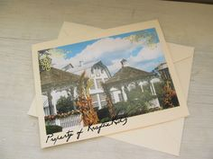 Photo Card Autumn in Pigeon Forge Tennessee Fall by KraftieKidz, $3.50