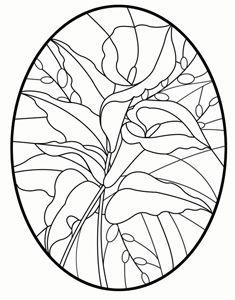 Free Lily Pattern - Holiday Patterns - Delphi Glass