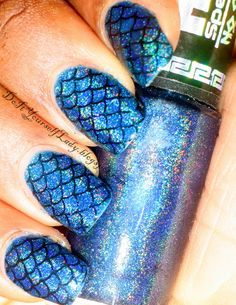 Fish Scales/Mermaid Nails