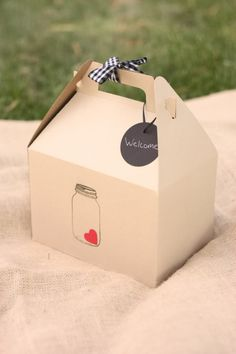 Multiple Wedding Uses for Gable Boxes