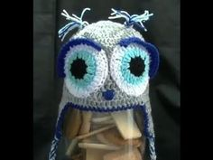 This Crochet lesson will be how to make an adorable Owl Beanie with earflaps and tassels.  It is rated as a easy/intermediate project.  In this video you will learn how to make a beanie hat to fit any size head and make eyes to bring your owl to life.  This pattern was designed by Brooke Till.  This Owl beanie is great for any age.  writtern pat...