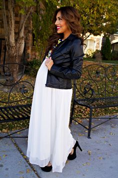 K & J Diaries » How to Wear Non-Maternity Dresses When Pregnant