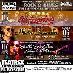 La Encrucijada: Rock & Blues en la Cresta de la Ola (Nota de prens...