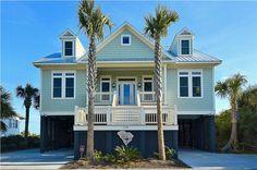 Edisto Realty - Carolina Breeze - 7bd/6.5ba Beachfront home - New Construction - Edisto Beach, SC