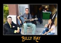 It's all about the smiles! Billy Kay with David and Laura in Las Vegas.  Billy Kay is on iTunes at https://itunes.apple.com/us/album/bellmore/id722898949?uo=4&at=11l5Ku  All My Best, Billy Kay