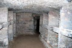 """Edinburgh Underground Vaults. We took the historical/ghost tour in July 2012. The wiccans still have an alter that they visit there and there is a stone circle in another room where they """"contain"""" the evil spirits.  You can step into it if you aren't afraid of bad luck.  We didn't test it.  One room is very creepy.  I wanted to back into the corner to take some pictures, but felt repelled by the corners and found I couldn't bring myself to go into the corners."""