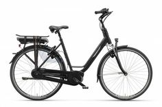 Batavus Milano E-Go E-Bike Women 53cm 8S - Matt Black