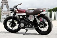 Honda CB350 Custom | #motorcycle
