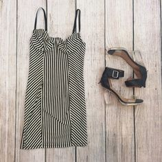 American Apparel Stripped Dress M New with no tags. Size M. No trades  American Apparel Dresses Mini