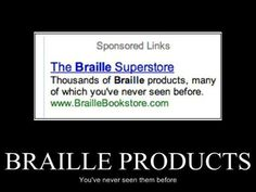 The Braille Superstore