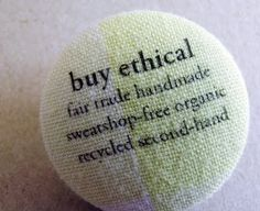 isismade: Ethical Clothing Pledge. Includes a bounty of information, especially on the more difficult ethical fashion items like bras, undies, socks and shoes.