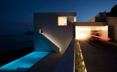 Cliff house on Mediterranean sea, Alicante, Spain: Most beautiful houses in the world