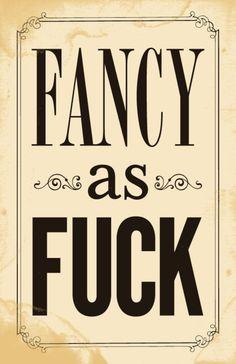 Fancy!!!