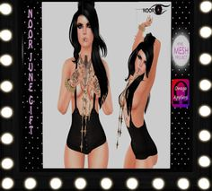 Second Life Freebies and more: Noor Noir