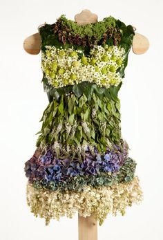 Oh this is just too fabulous, dresses to compost - but gorgeous.