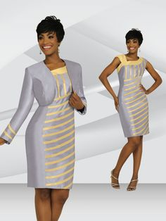 Stacy Adams Spring 2015 - Rapture Gold Upscale Church Suits, dresses and hats For Sunday Wear