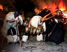 #Carnevale #Sardegna Boes, merdules e sa Ilunzana (pinterest)