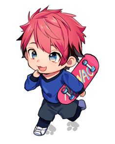 Chibi Boy, Cute Chibi, Anime Chibi, Kawaii Anime, Manga Anime, Anime Art, Chibi Characters, Estilo Anime, Handsome Anime Guys