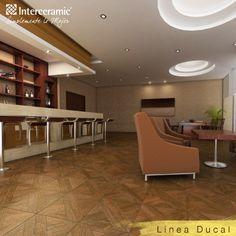 Las maderas cerámicas te brindan calidez a tus espacio y son fáciles de instalar.