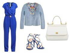 """Look do Dia"" by maispoderosa on Polyvore featuring moda, Versace, Schutz e Dolce&Gabbana"