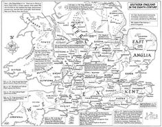 Anglo Saxon Map Of England.38 Best Maps Images Maps Anglo Saxon Kingdoms Map Of
