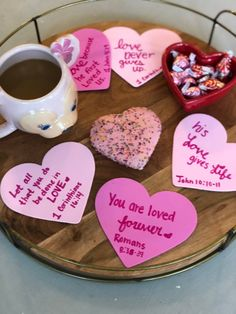 God's Love is the ultimate description of Love. This February celebrate 14 Days of Love through Bible Verses with your kids. Valentine Day List, Valentine Crafts, Happy Valentines Day, Bible Bulletin Boards, Bible Verses About Love, Love Languages, Happy Heart, Kids Nutrition, Christian Quotes