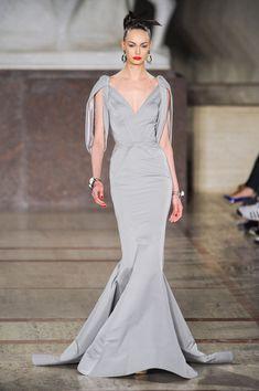 Zac Posen at New York Fashion Week Fall 2012