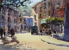 ... painter Grahame Booth. http://grahamebooth.com/demonstrations.html