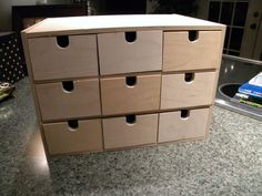 More tutorials on the drawers project from the Gentleman Crafter
