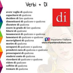 Italian Verbs, Italian Grammar, Italian Vocabulary, Italian Language, Italian Alphabet, Learn To Speak Italian, Italian Colors, Italian Lessons, Music Pics