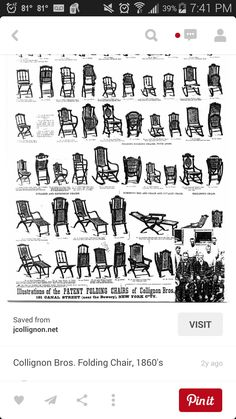 Civil War Furniture