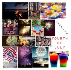 """""""Forth of July Camping Trip"""" by broken-and-alone on Polyvore featuring interior, interiors, interior design, home, home decor, interior decorating and Karlsson"""