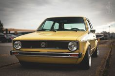 Classic Car News Pics And Videos From Around The World Classic Golf, Classic Cars, Vw Mk1 Rabbit, Mk1 Caddy, Drift Truck, Volkswagen Golf Mk2, Tuner Cars, Retro Cars, Hot Cars