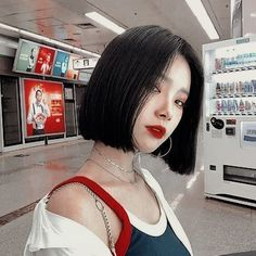 pale ulzzang with short hair -You can find Ulzzang and more on our website.pale ulzzang with short hair - Ulzzang Short Hair, Ulzzang Korean Girl, Short Hair Korean Style, Ulzzang Hairstyle, Short Hair Styles Asian, Korean Short Hairstyle, Korean Hairstyles, Girl Short Hair, Short Girls
