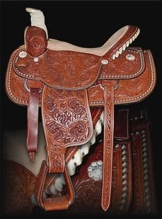 Dale Chavez Roping Saddle <3 i get into team roping more i will for sure have this!!