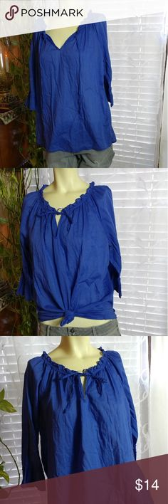 Cotton Blouse OLD NAVY Authentic in excellent condition. Old Navy Tops Blouses